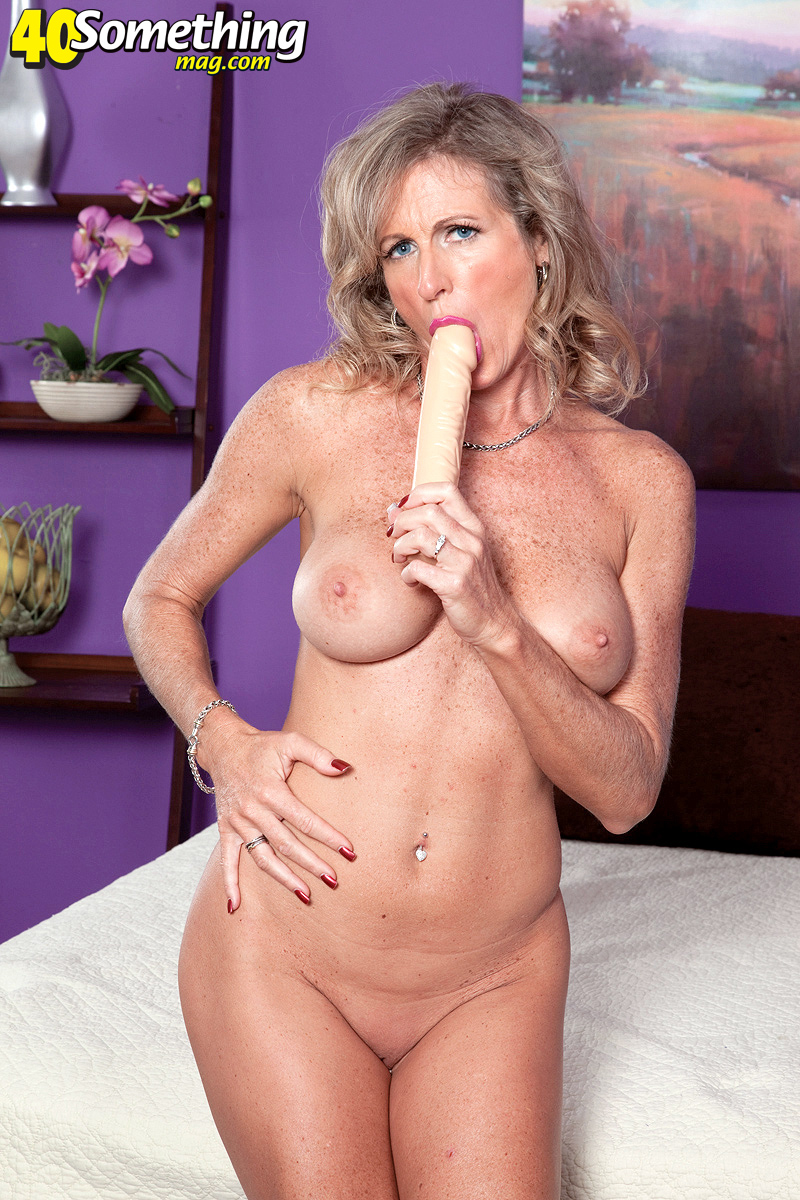 40 something mag dildo mom